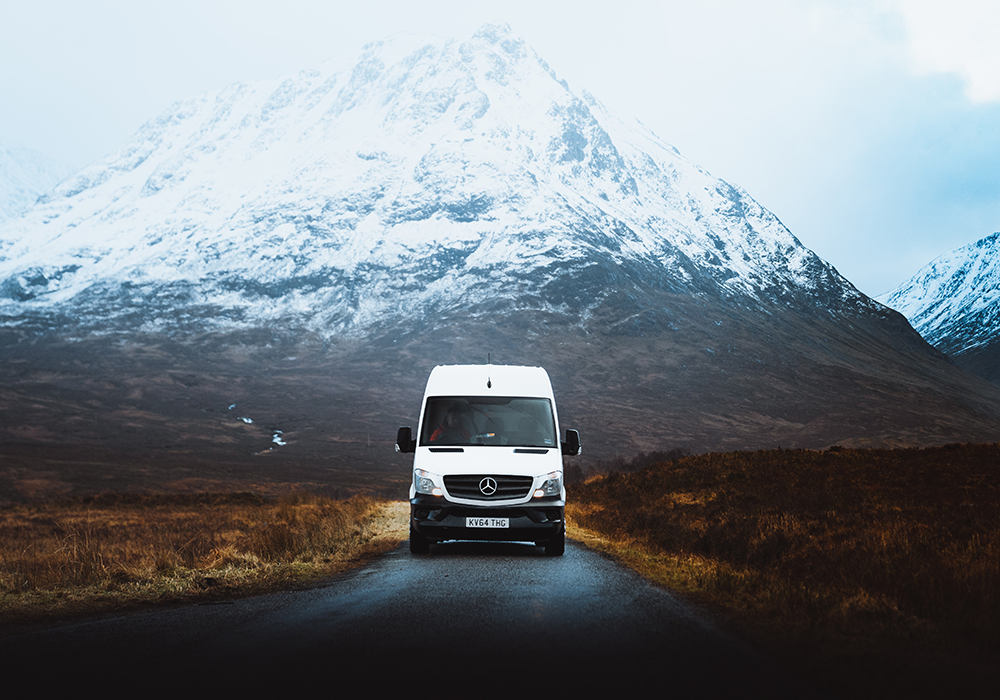Here are my top 5 reasons to travel in a converted van.